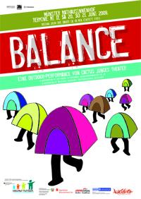 Balance-Plakat