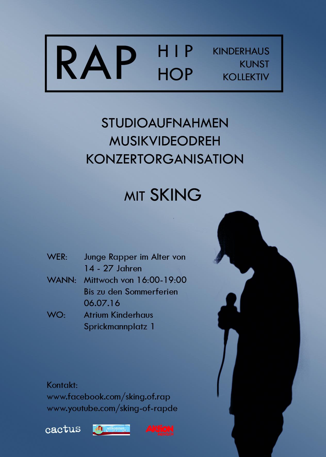 Infoflyer_Kinderhaus_Kunst_Kollektiv_Rap
